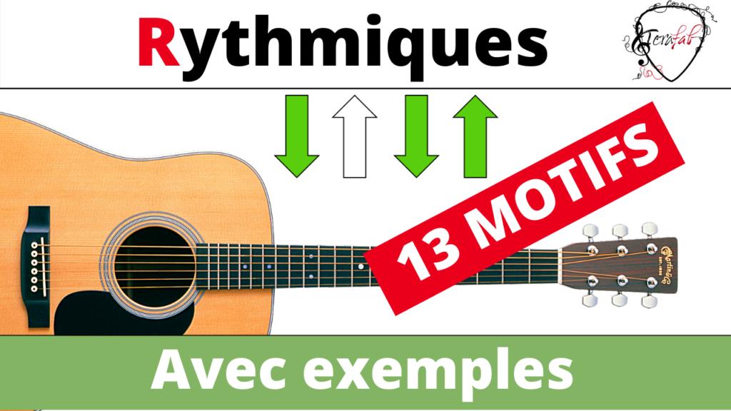 Rythmique guitare terafab